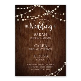 Rustic Celebration - Invitation