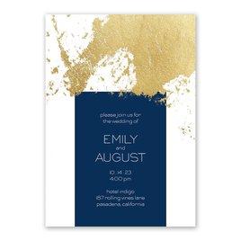 Style Splash - Gold - Foil Invitation