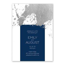 Style Splash - Silver- Foil Invitation