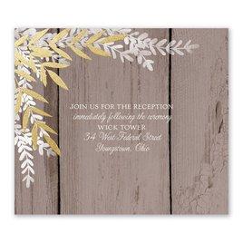 Shimmering Branches - Gold - Foil Information Card