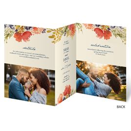 Autumn Foliage - Trifold Invitation