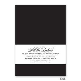 Simply Elegant - Invitation