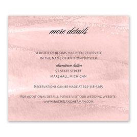 Brushstroke - Pink - Information Card