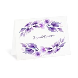Thank You Cards: Watercolor Blooms Thank You Card