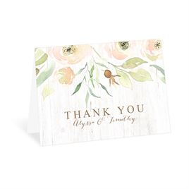 Thank You Cards: Fresh Floral Thank You Card