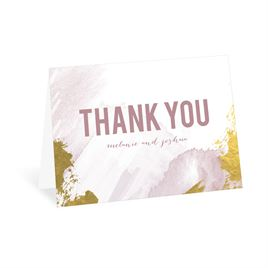 Modern Wash - Lilac - Thank You Card