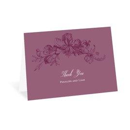 Vintage: Flourishing Blooms Thank You Card