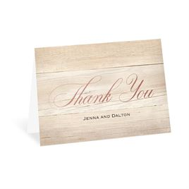 Our Happy - Rose Gold - Foil Thank You Card
