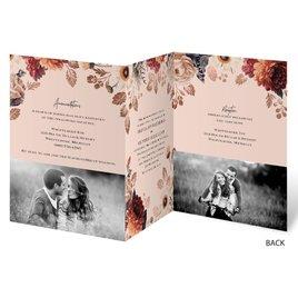 Lavish Floral - Trifold Invitation