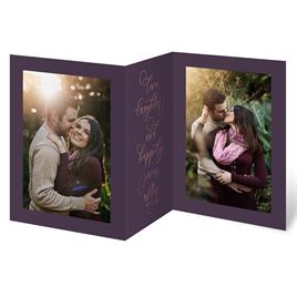 Ever After Foil Trifold Invitation