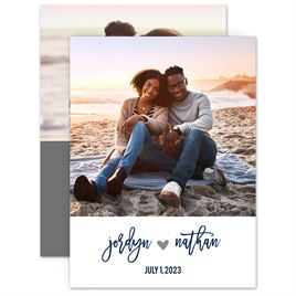 Save The Dates: My Heart Save the Date Card