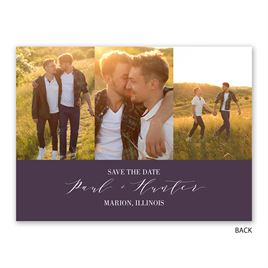 Simply Splendid - Save the Date Card