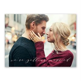 Sweet News Save the Date Card
