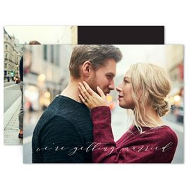 Simple Save the Dates: Sweet News Save the Date Card