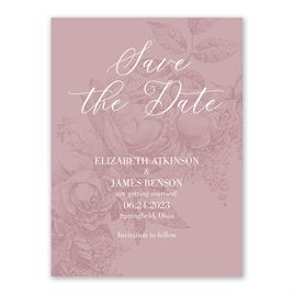 Garden Grace - Save the Date Card