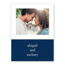 Two of Us Save the Date Card