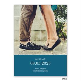 Our Day - Save the Date Card
