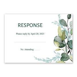 Wedding Response Cards: Breathless Response Card