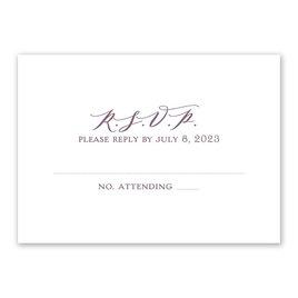 Wedding Response Cards: Photo Perfect Response Card