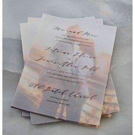 Photo Perfect - Layered Vellum Invitation