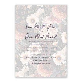 Abundant Blooms - Layered Vellum Invitation