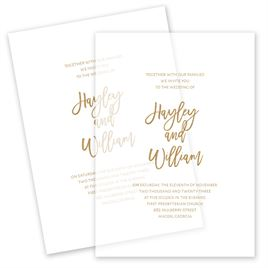 Allure Vellum Invitation