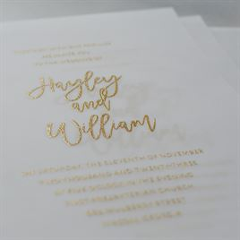 Allure - Vellum Invitation