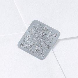 Wedding Favors: Silver Filigree Seal