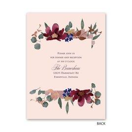Lush Floral - Petite Invitation
