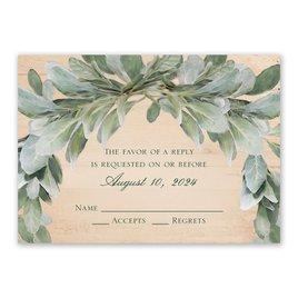 Wedding Response Cards: Blush Blooms Response Card
