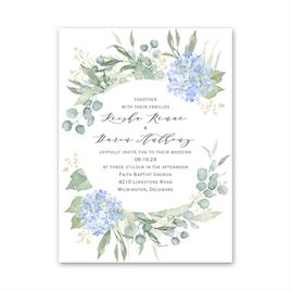 Something Blue Petite Invitation