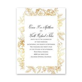 Floral Allure Petite Invitation