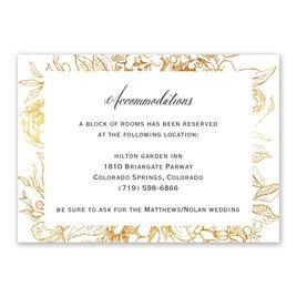 Floral Allure - Information Card