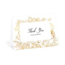 Thank You Cards: Floral Allure Thank You Card