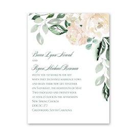 Rose Garden Petite Invitation