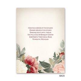 Blushing Blooms - Petite Invitation