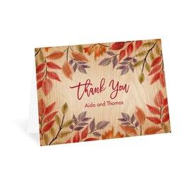 Autumn/Fall: Fall Foliage Thank You Card