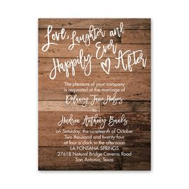Happily Ever After - Petite Invitation