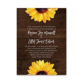 Sunflower - Petite Invitation