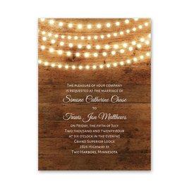 Country Glow - Petite Invitation