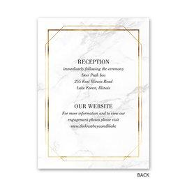 Gilded Marble - Petite Invitation