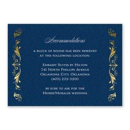 Majestic Monogram - Information Card
