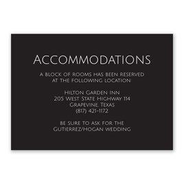 Vows - Information Card
