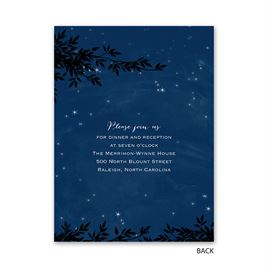 Under the Stars - Petite Invitation