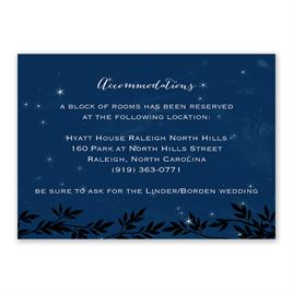 Under the Stars - Information Card