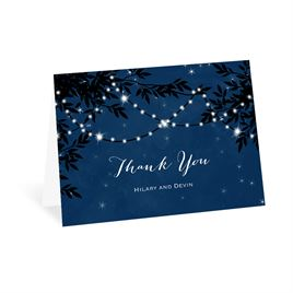 Thank You Cards: Under the Stars Thank You Card