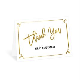 Modern Fairy Tale - Thank You Card