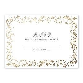 Wedding Response Cards: Eternal Love Response Card