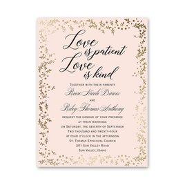 Eternal Love Petite Invitation