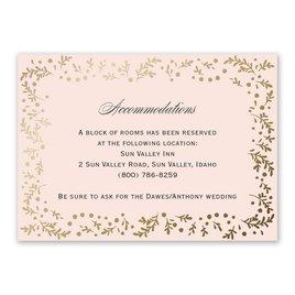 Eternal Love - Information Card